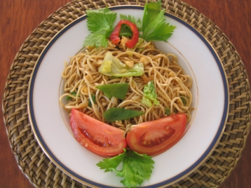 Indoensian Fried Noodles