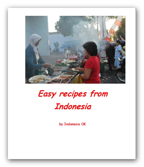 Free easy Indonesian recipes (eBook)